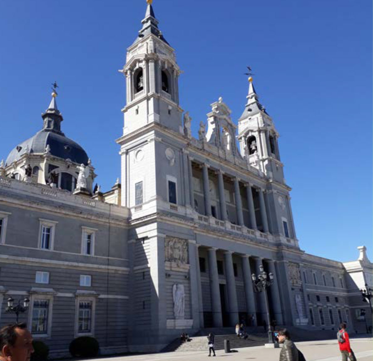 A church in central Madrid
